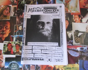 NECRONOMICON Issue 20 UK horror fanzine zine Dec 2011 Bram Stoker Film festival special