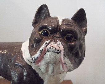 Bull Dog - Vintage Cast Iron Bull Dog - Antique Bull Dog - English Bull Dog