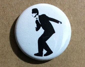 "1"" Button - SKA Dancing Man"