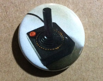"1"" Button - Old School Gaming"