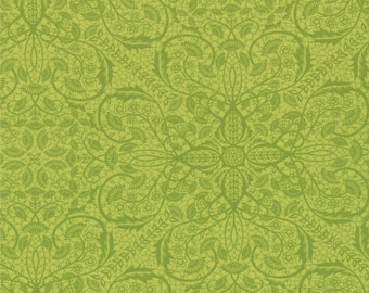 """Chantilly - Bohemian Lace in Field by Lauren + Jessi Jung for Moda Fabrics - 32"""" Remnant"""