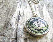 Perpetual Traveller Necklace // Ship Necklace // Vintage Pendant Necklace // Nautical Jewelry // Nautical Necklace