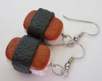 Spam Musubi Earrings