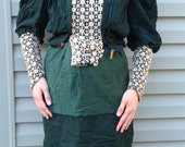Lovely green Victorian Jacket and Slip Dress