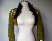 Valentines day gift Free shipping winetr shrug women Accessories special design winter fashion gift for mom hand made olive shrug
