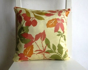 Autumn Leaves 13 x 13 Cushion cover