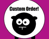 Custom Order Reserved for Cathy