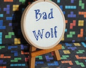 Bad Wolf -  Button For Your House