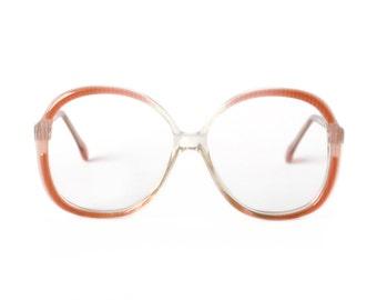 Mauve Vintage Designer Glasses : OWP 80s transparent frame - NOS eyeglasses