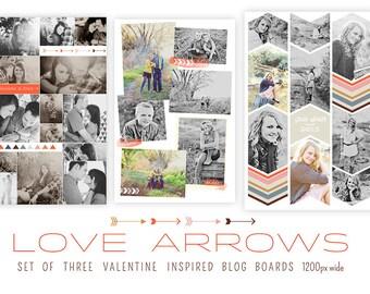Love Arrows Blog Boards   INSTANT DOWNLOAD