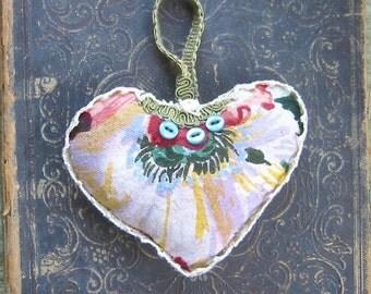 Heart lavender sachet
