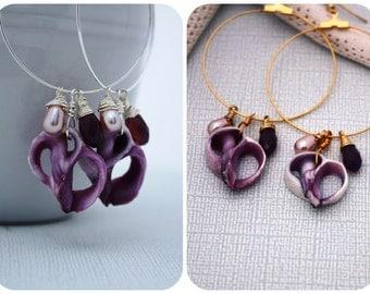 Sea Shell Earrings Seashell Earrings, Beach Jewelry Nautical Jewelry Beach Shell Earrings Sea Shell Jewelry Ocean Jewelry Hawaii Jewelry 068