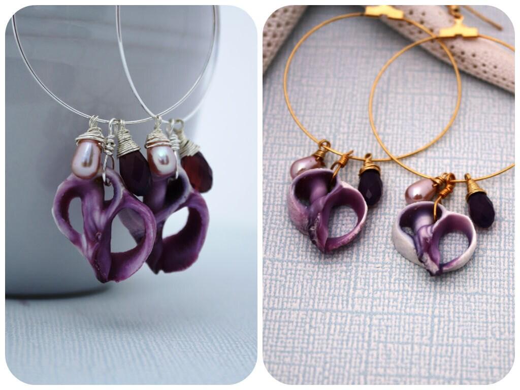 sea shell earrings seashell earrings jewelry by