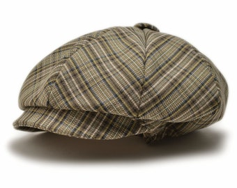 Newsboy Baby Hat Newsboy Hat, Baby Boy Hat, Baby Boy Flat Cap, Baby Drivers Cap, Baby Hats, Plaid Baby Hat, Newsboy Hats Custom Colors
