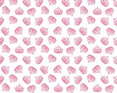 Crown Fabric, Hollywood Sparkle, Crown in Hot Pink, Riley Blake Fabric, One Yard