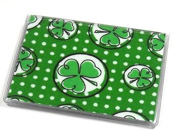 Card Case Mini Wallet Shamrocks
