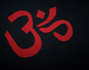 Yoga, OM Symbol Choose Your Color at Checkout,  Iron On Applique - Search in my shop for more OM Symbols
