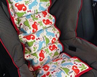 popular items for dinosaur car seat on etsy. Black Bedroom Furniture Sets. Home Design Ideas