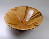 Reserved for Melanie Ambrosia Maple Wooden Bowl - Handmade - Figured by Nature
