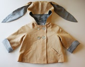 Boys Summer Linen Bunny Coat