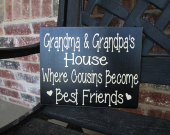 Grandma and Grandpa's-Where cousins become best friends