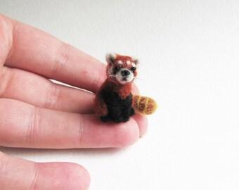 Miniature red panda