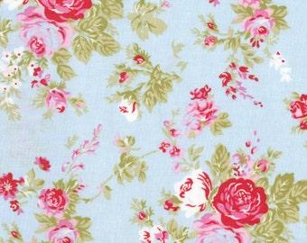 AMELIE in Blue (pwtw35) - DELILAH by Tanya Whelan - Free Spirit Fabric - 1 yard