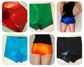 Shiny Roller Derby Shorts - Pre-Order