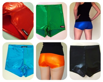Shiny Roller Derby Shorts - Pre-Order