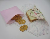 Reusable Sandwich Wrap - DESIGN YOUR OWN - Made to Order