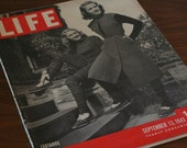 Life Magazine - September 13, 1943 - 1940s Advertisements and Articles - Leotards