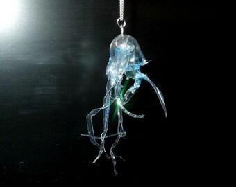 Jellyfish pendant II.
