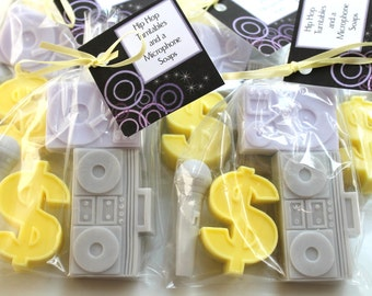 10 HiP HoP TuRnTaBleS and a MicRoPhone Party Favor Soap