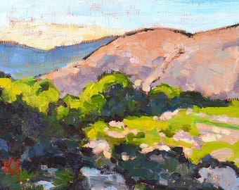 San Diego Mountains California Landscape Painting