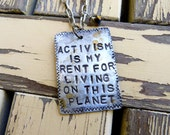 Activism Necklace
