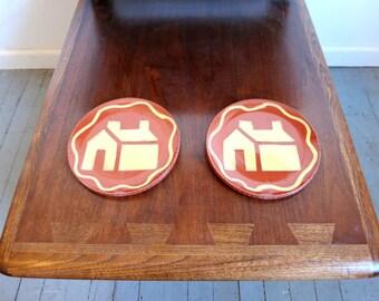 Retro Ceramic Plates