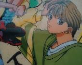 The Japanese Marmalade Boy Pencil Board. Shitagiki.80s