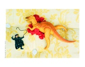 "Children bedroom decor - Nursery decor - Children art - Toy poster 7 ""I saw Zorro"""