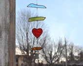 Suncatcher,Heart suncatch...
