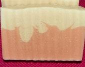 Cherry Blossom Goats Milk Argan Oil Handmade Cold Process Soap with Shea Butter & Avocado Oil