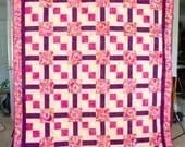 Butterfly Batik Quilt