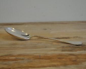 Vintage Honour Plate spoon - Silver plated - EPNS - single