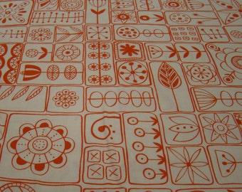 SALE Scandi in Orange Zest, Summsville Collection by Lucie Summers for Moda Fabrics 1/2 yd