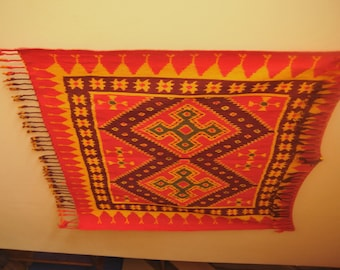 Genuine Indonesian Ikat wall hanging