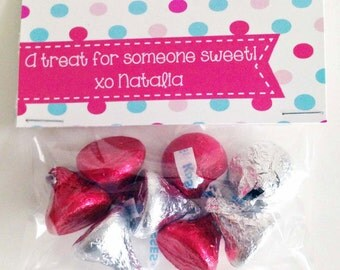 Valentine Treat Bag Toppers Personalized PDF file