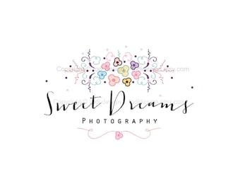 Premade Logo design- Sweet Dreams  Photography