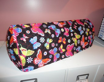 Cricut Expression Double Quilted Dust Cover Mulit Color Bright Butterflys