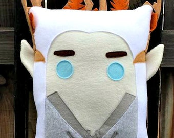 Thranduil, pillow, cushion, Plush, LOTR, Elf