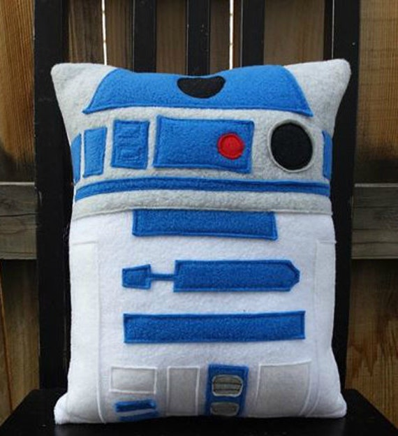 r2d2 star wars pillow cushion gift