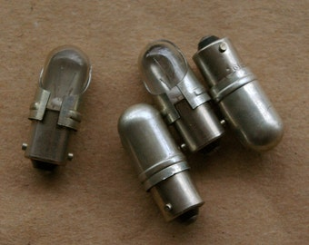 4 Salvaged Alarm Panel Alert Bulbs